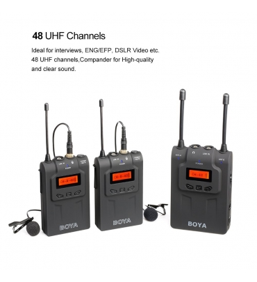 UHF Wireless Microphone Boya BY-WM8
