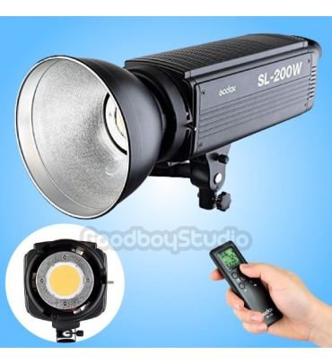 Godox SL-200W 200WS LCD Panel LED Video Light Wireless Control