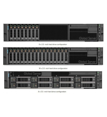 Dell PowerEdge R740 8x3.5in