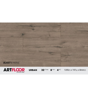 Sàn gỗ Artfloor AU007 - Urban - Paris - 8mm - AC4