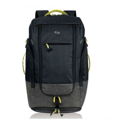 "Balo Solo Velocity Max Backpack 17.3"" - ACV732 M Black"
