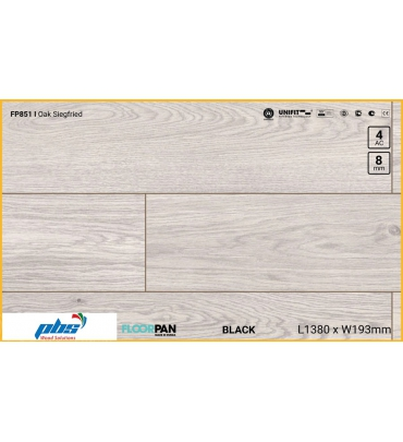 Sàn gỗ Floorpan FP851 Oak Siegfried - 8mm - AC4